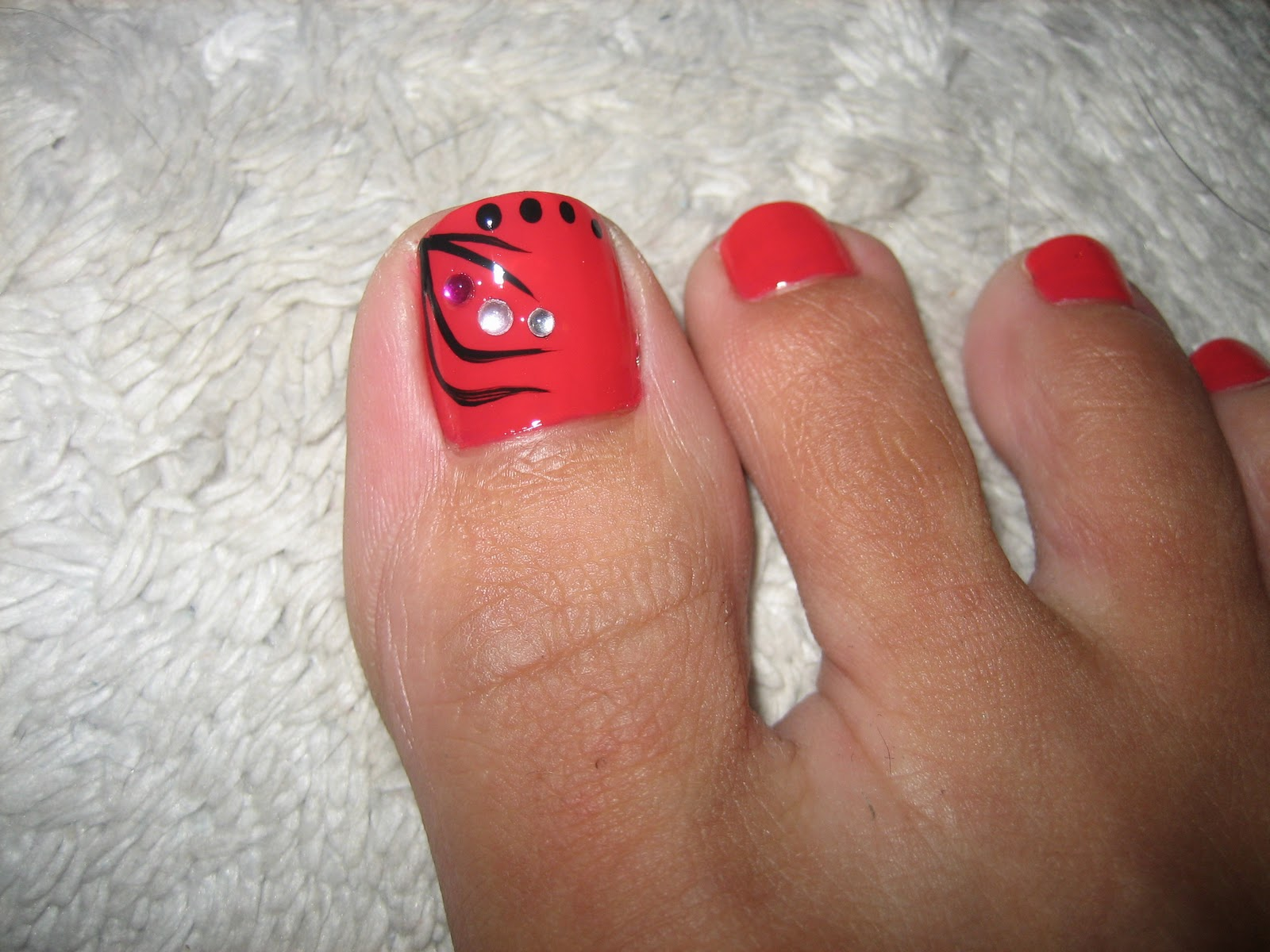 Awesome Nails By Nicole: Toes of the Day!