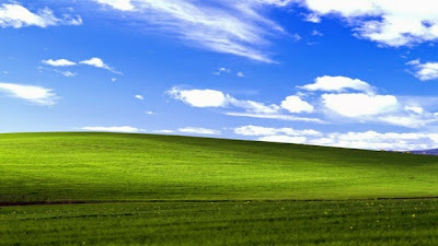 La historia del fondo de pantalla de Windows XP