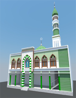 Rencana Gambar Madjid Al Barokah
