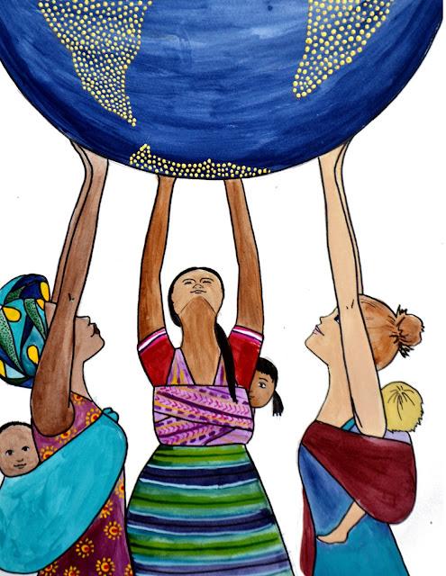babywearing global motherhood spiritysol