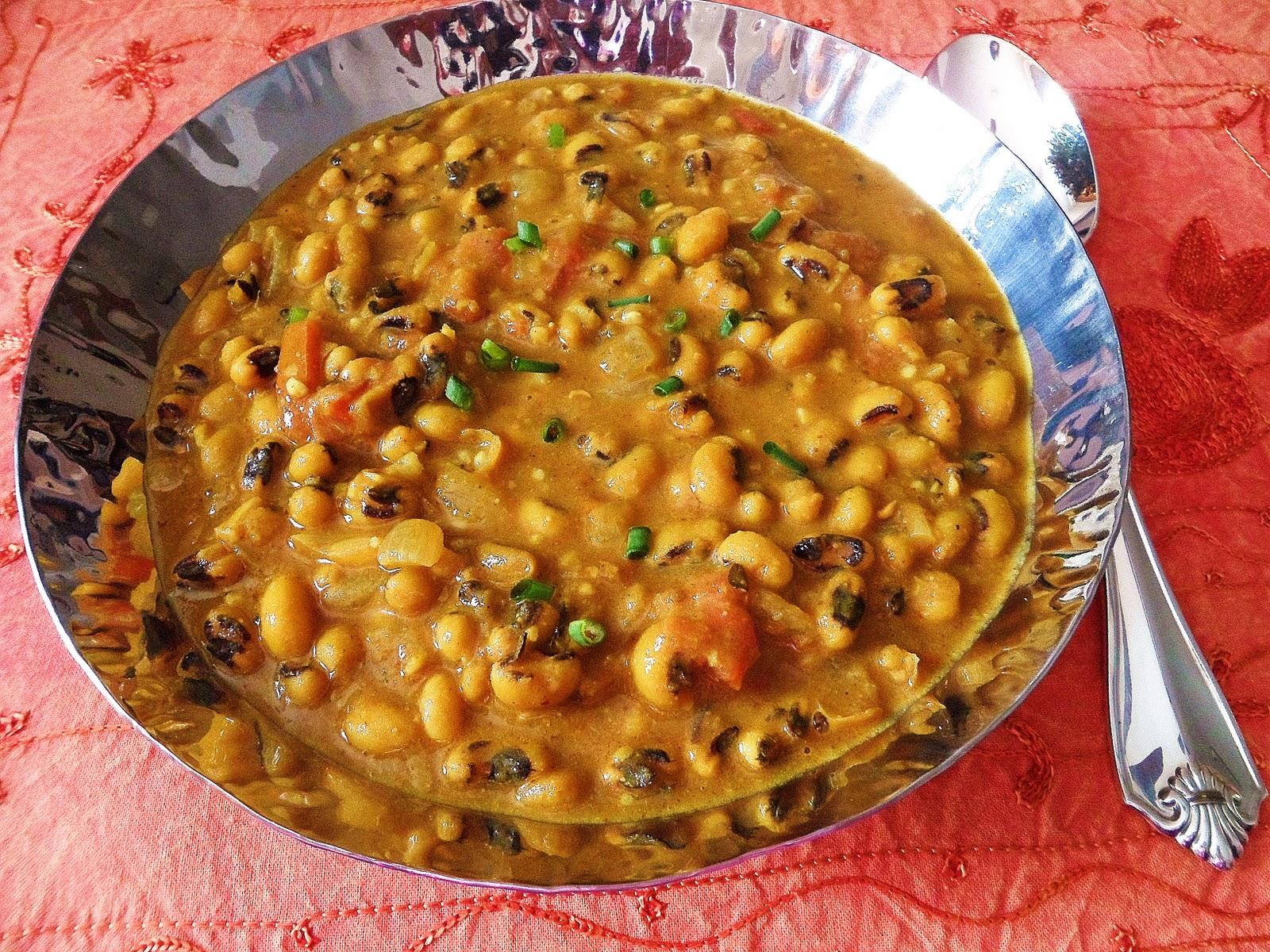 Sage Trifle: Black-Eyed Pea Curry (Lobia Tariwaala)