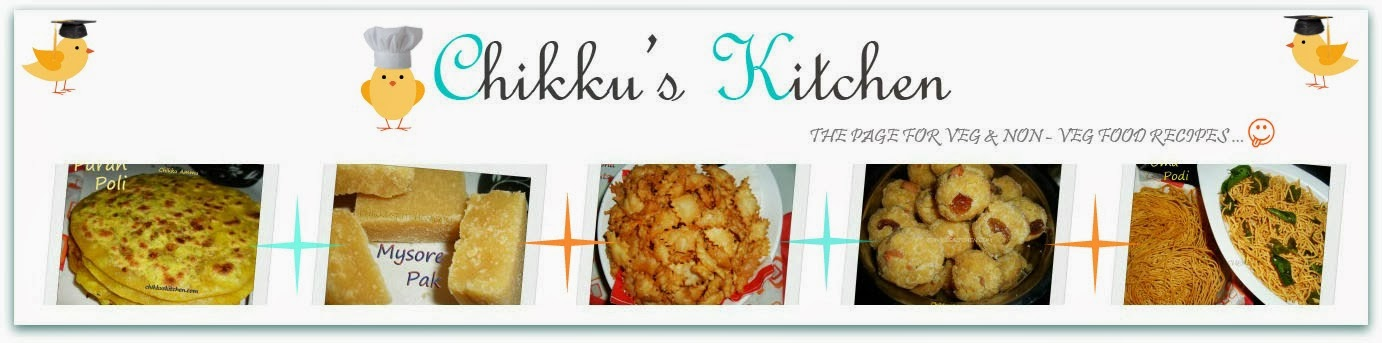 Chikkus Kitchen The Page For Veg & and Non-Veg Food Recipes