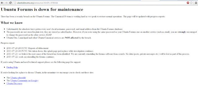 UbuntuForums.Com / Canonical Hacked, Josh Wieder