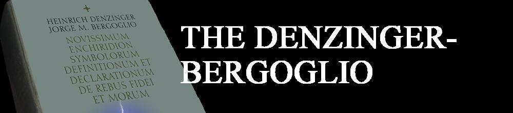 The Denzinger-Bergoglio