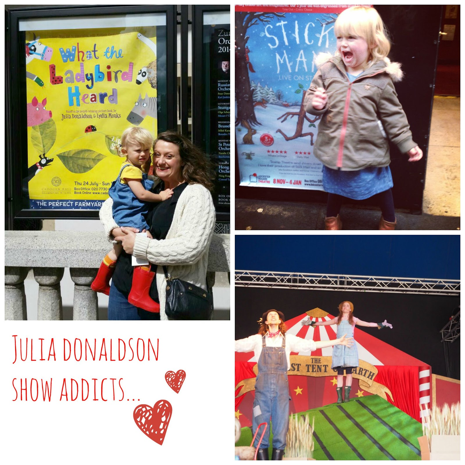mamasVIB | V. I. BUYS: Welcome to #mamamondays - The Gruffalo Live, Christmas in July & Camp Bestival (again!) | julia donaldson | the gruffly | what the ladybird heard | live shows | toddler stage shows | days out with kids | stickman | theatres | shows | live action books | julia donaldson | gruffly live | tickets t shows | camp bestival | christmas in july | press events | boden | boden christmas | press | journalist | mamasVIB | festival | reds festival tickets | blogger