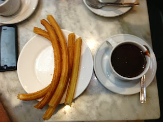 Tapas and Wine Tour Madrid Spain - Dessert of Chocolate and Churros