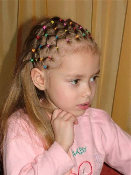 Cortes y Peinados con trenzas para niñas 2013