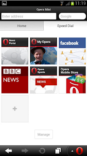 Opera Mini_Android Web Browser