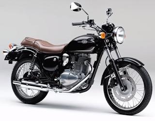 Kawasaki Estrella 2016 Metalic Spark Black