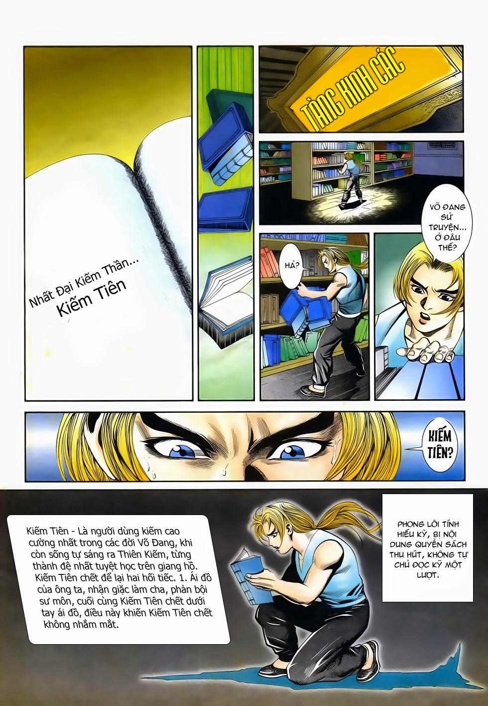 Long Hổ Phong Bạo chap 4 - Trang 31