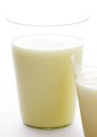 Milkshake ananas au lait maternel