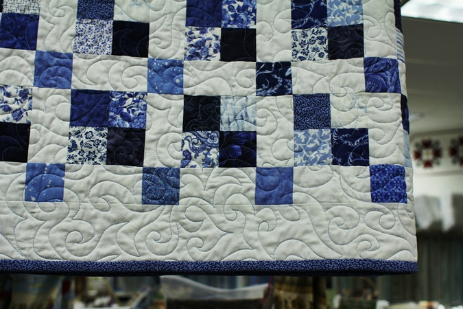 Quilting By The Yard: Blue & White Jelly Rolls Back In Stock! : lagoon quilt - Adamdwight.com