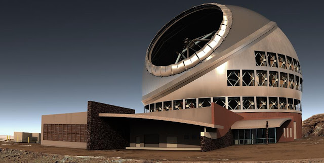 Artist's impression of Thirty Meter Telescope. Credit: tmt.org