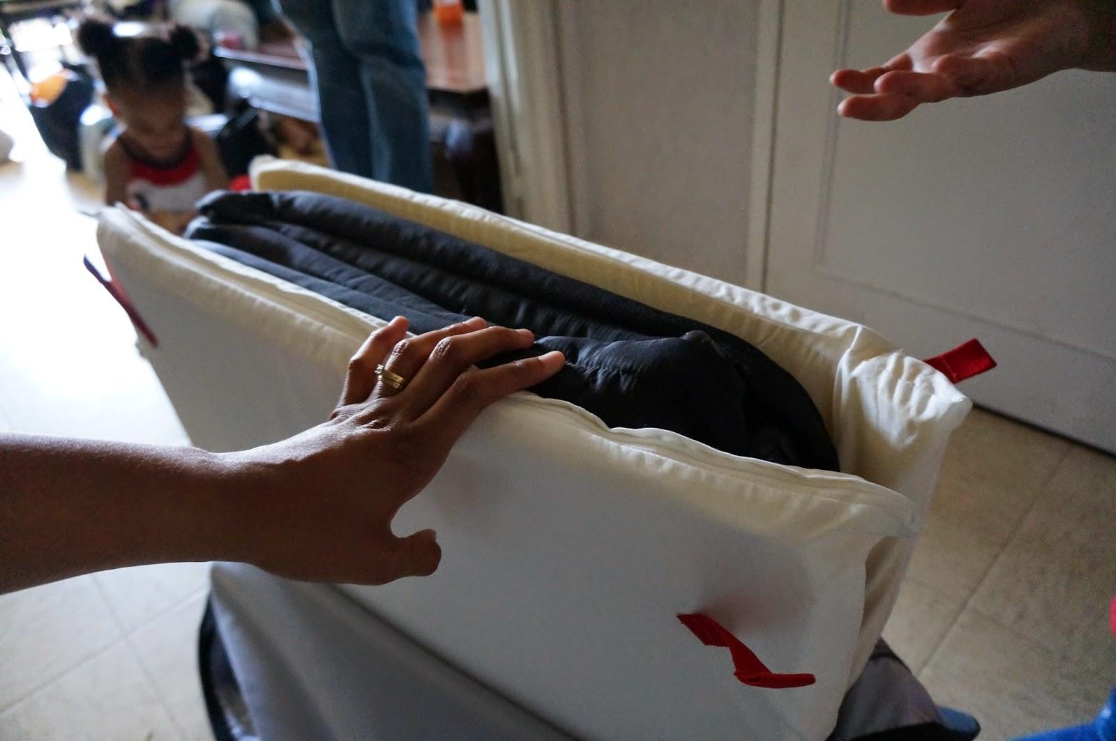 la mare aux canards le blog d 39 une parisienne le berceau et lit de voyage babybjorn test et avis. Black Bedroom Furniture Sets. Home Design Ideas