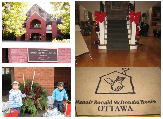 Ronald McDonald House Ottawa Collage