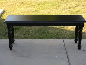 Black Bench  *SOLD*