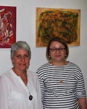 Con Zoé Valdés, París 2011.