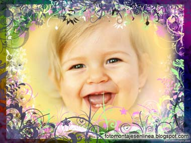 fotomontaje flores