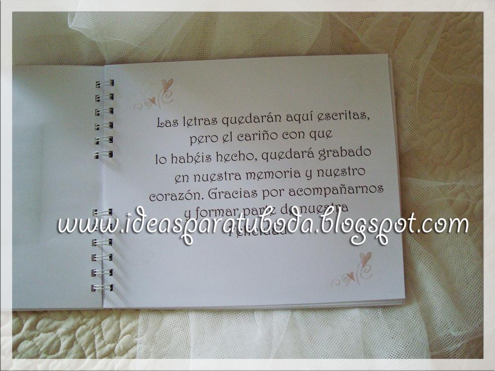 Libro de firmas para bodas tu boda de ensue o for Que poner en los banos de una boda