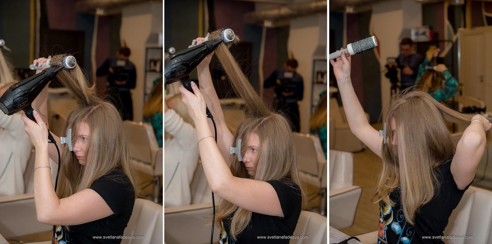 Укладка длинных волос от мастер класс