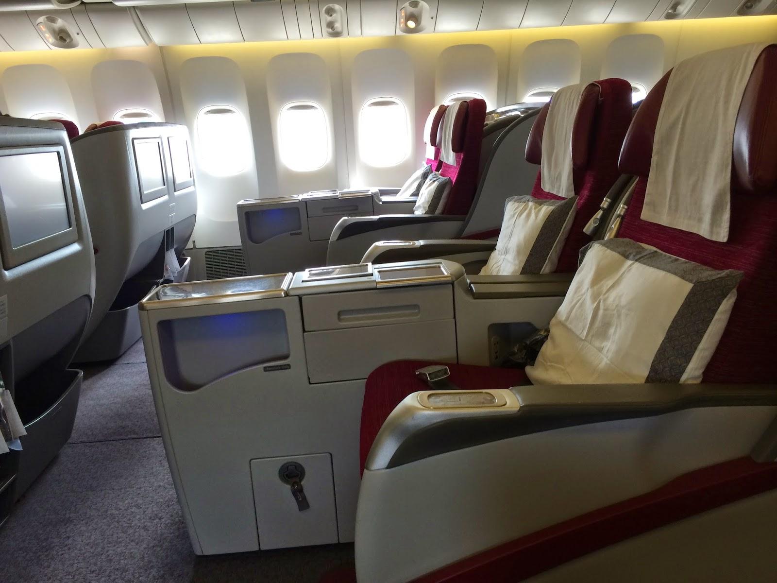 how to choose seats on qatar airways
