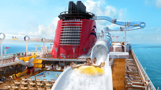 Cruzeiro Disney Dream Piscina AquaDuck