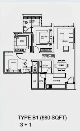 Floor plan feng shui h2o residence ara damansara for Best feng shui floor plan