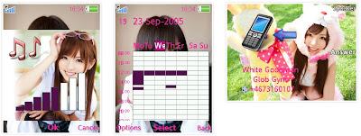 麻蒼憂SonyEricsson手機主題for Elm/Hazel/Yari/W20﹝240x320﹞