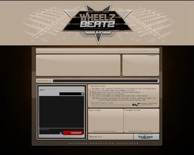 SoundClick Design For WheelzBeatz 2.0 Integrated with music Centro