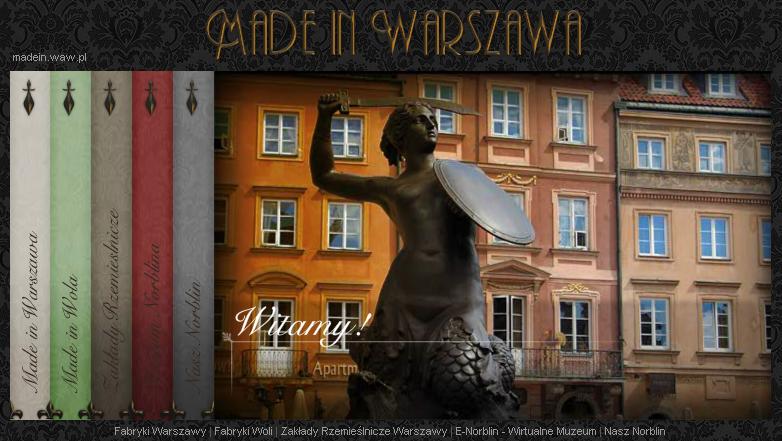 Projekt Made in Warszawa.