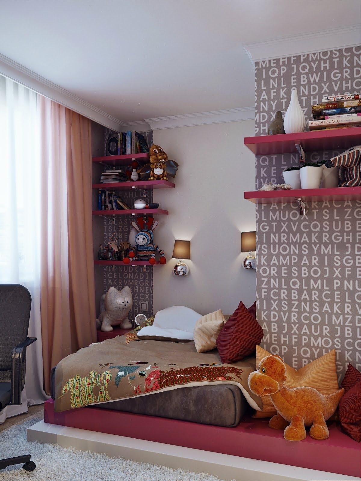 desain kamar tidur anak rancangan rumah dan tata ruang