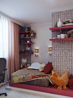 pemilihan desain kamar tidur anak
