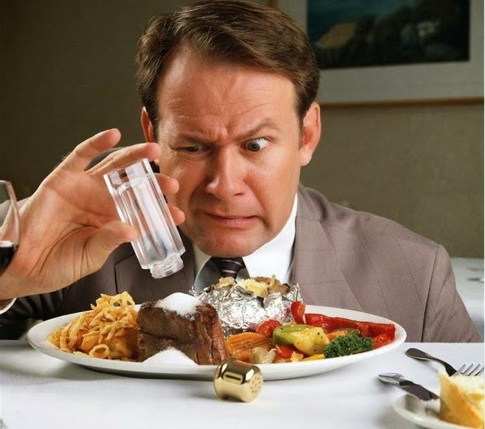 اكثر اغذية مضرة تحتوي على الملح
