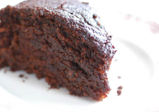 a piece of ginger cake