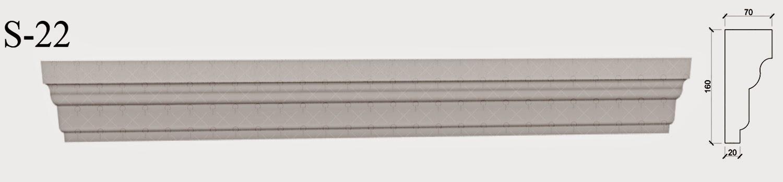 solbanc profile decorative pentru fatade case pret