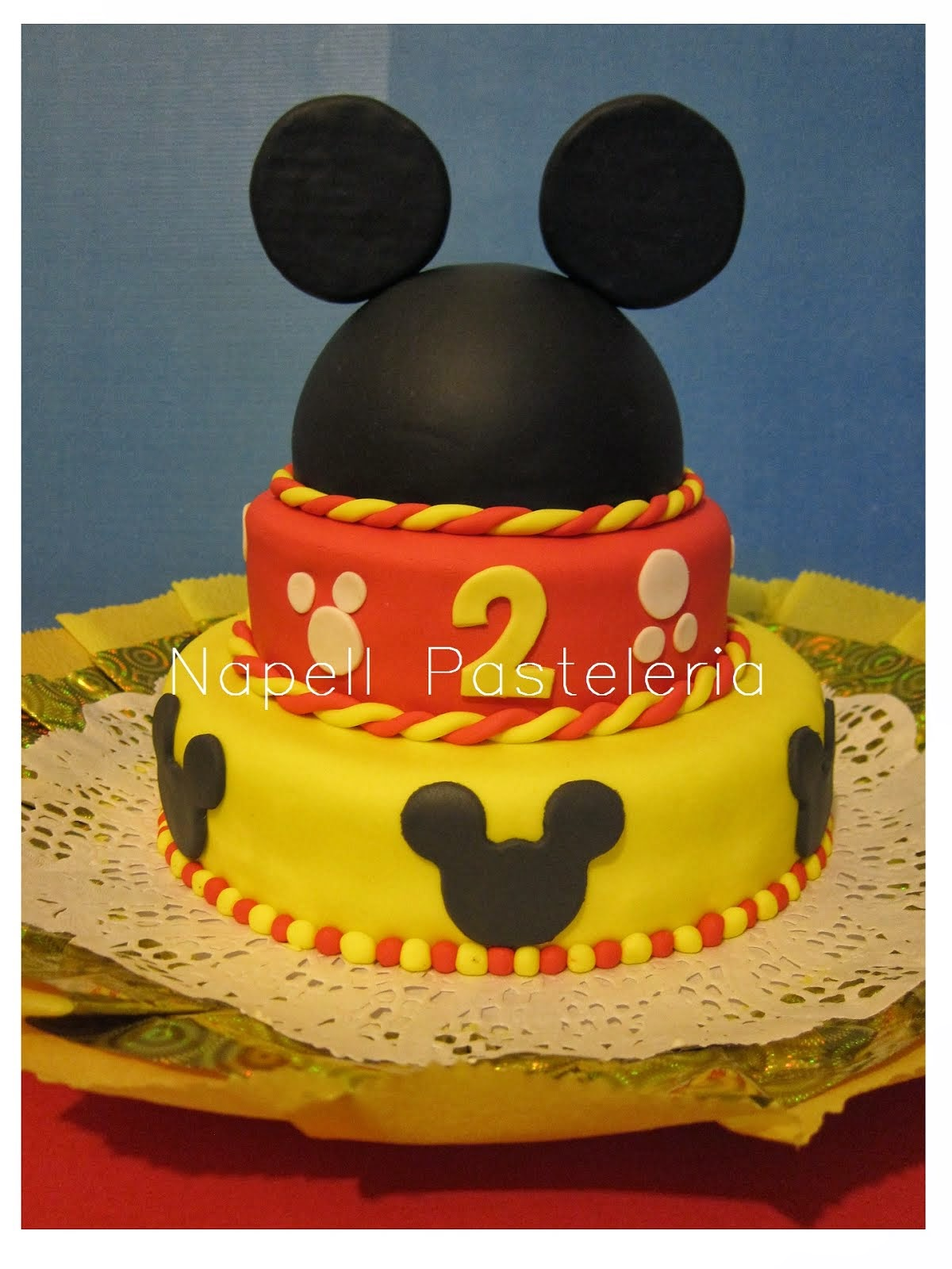 Torta Orejas mickey