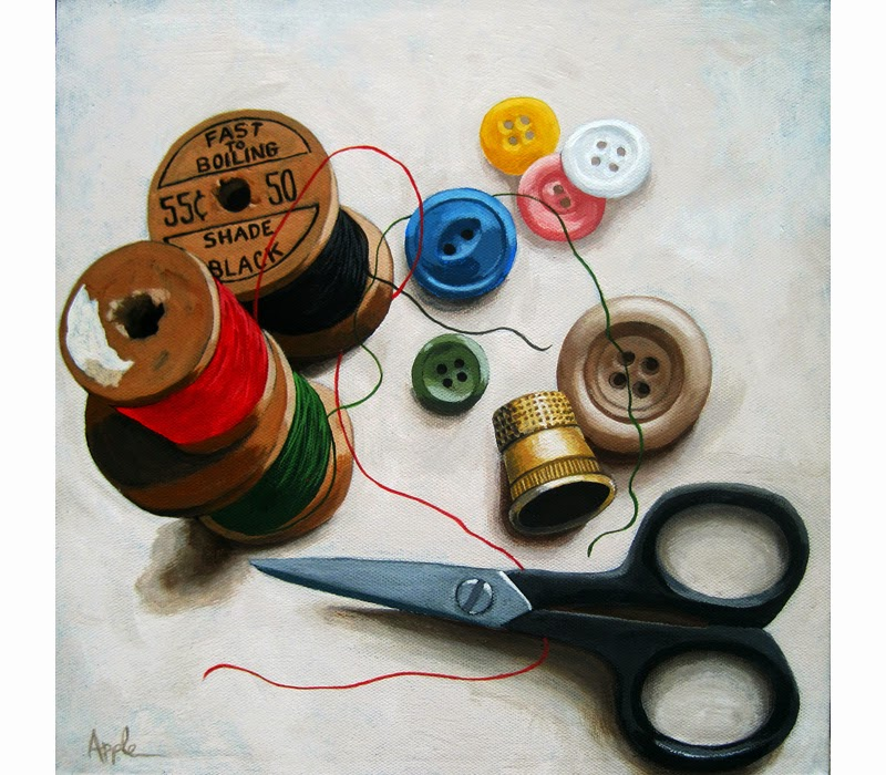 http://www.applearts.com/content/sewing-thread-scissors-still-life-realistic-painting