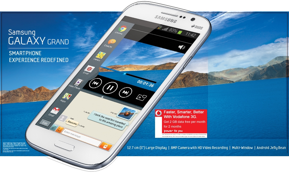 latest mobile in indiaphone specification samsung