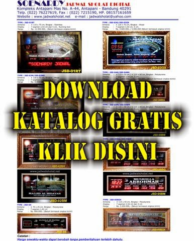 Download Katalog Gratis !