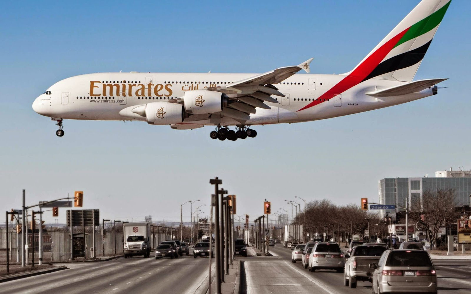 Emirates Airline New 2014 Wallpapers