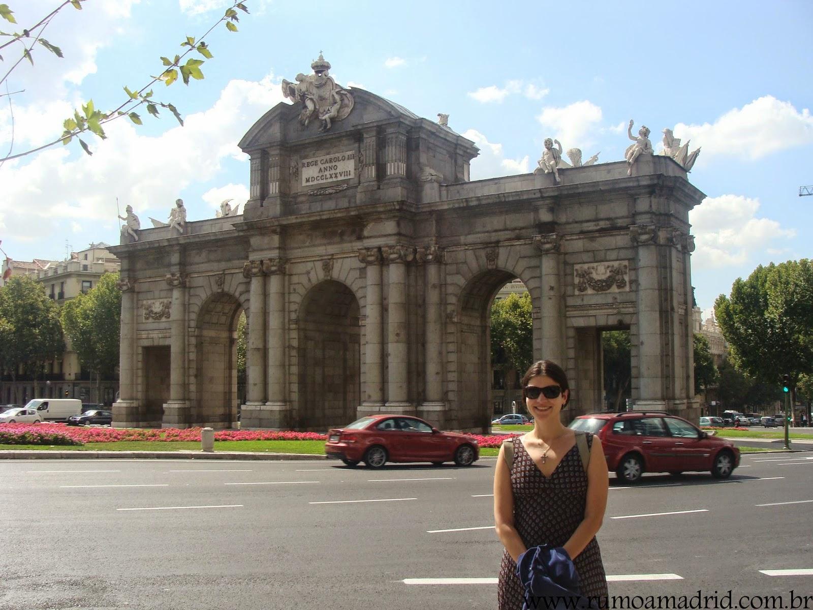 Uma brasileira em Madrid
