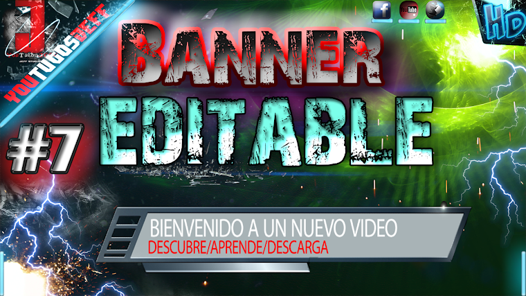 BANNER EDITABLE #7 CON AFTER EFFECTS CS6 | 2015