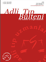 "ADLİ TIP BÜLTENİ ""The Bulletin of Legal Medicine"""