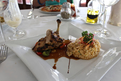 Roast Chicken and Risotto