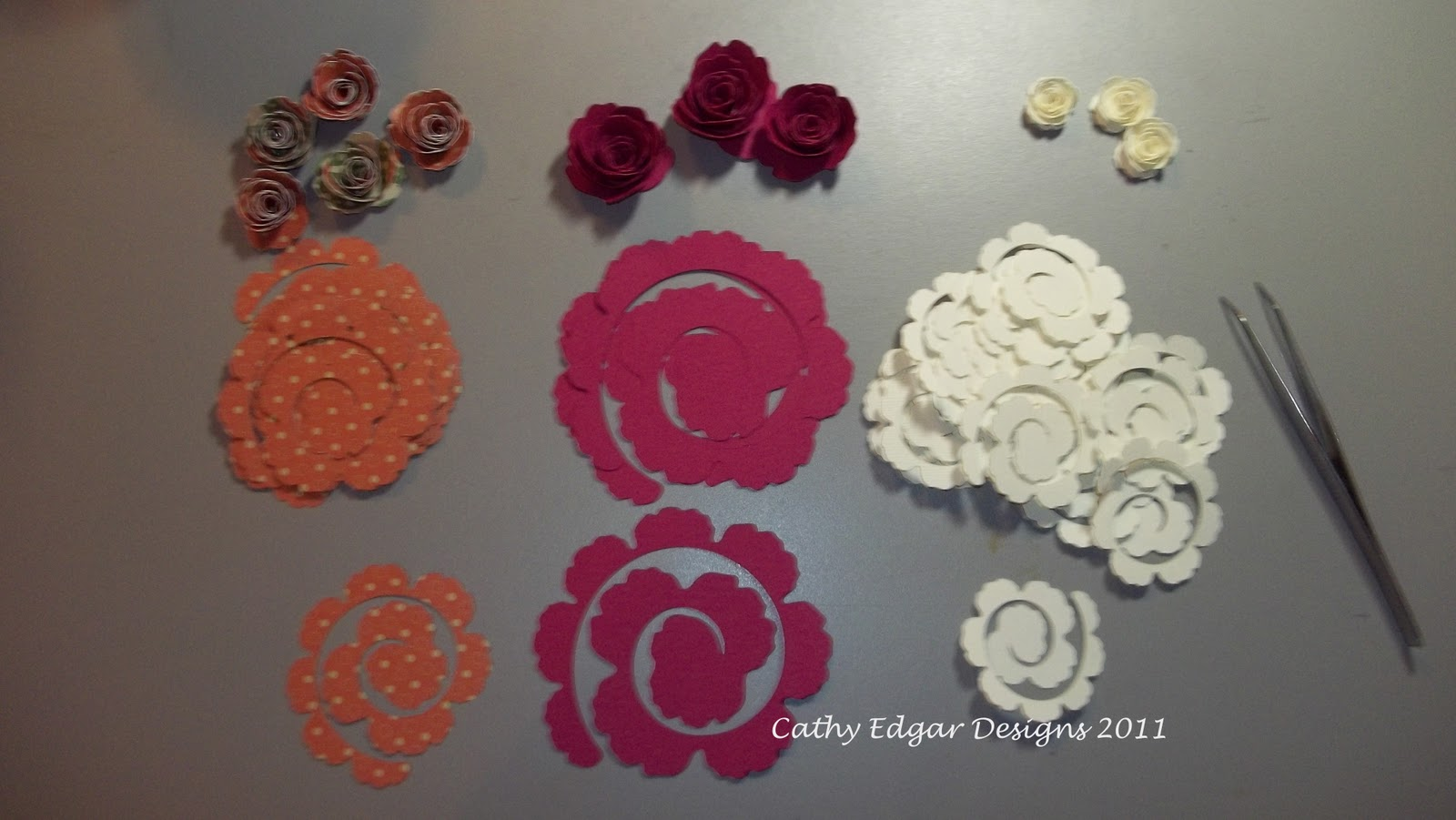 Ink It Up Stamp It Out With Cathy Edgar Making Cricut Rolled