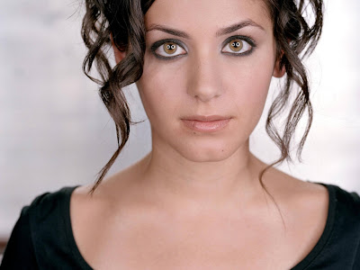 Celebrities eyes wallpaper - Katie Melua