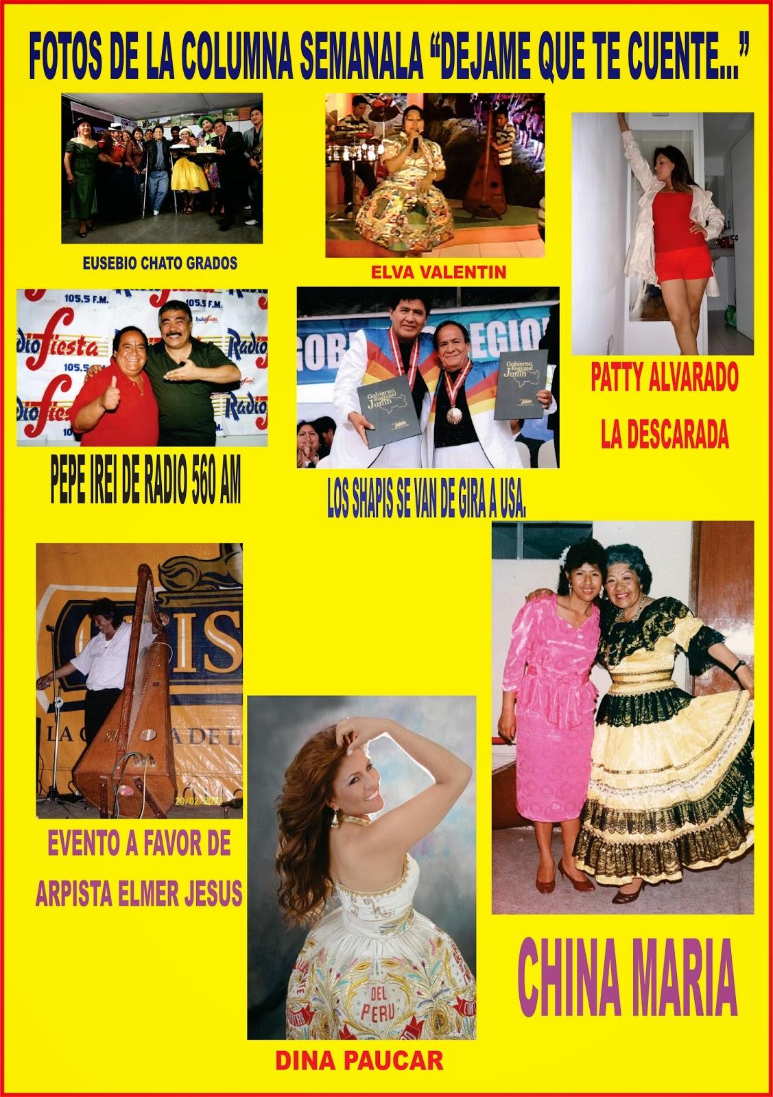 Chicha folk peru 2014 para todo el mundo columna dejame for Chusmerios del espectaculo