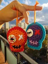 Calaveras a crochet