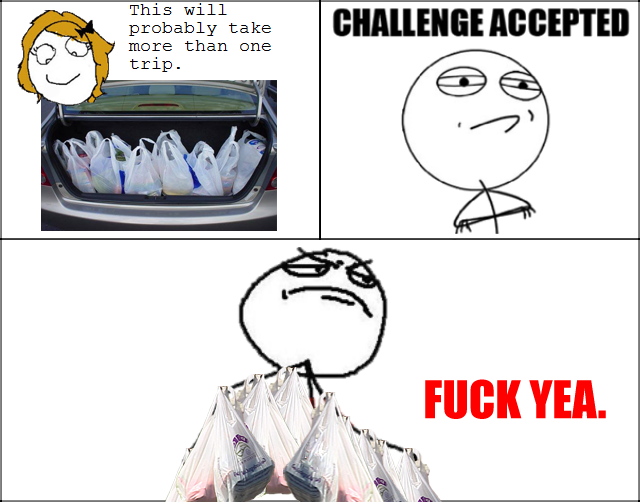 Challenge Accepted Guy. Challenge Accepted!