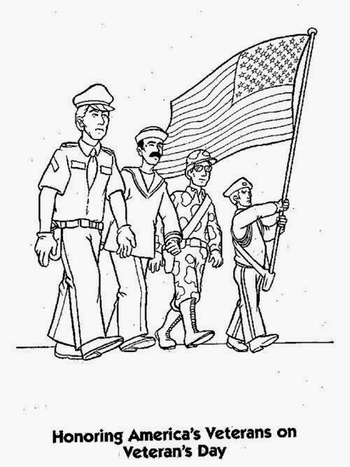 Free Veterans Day Images To Color